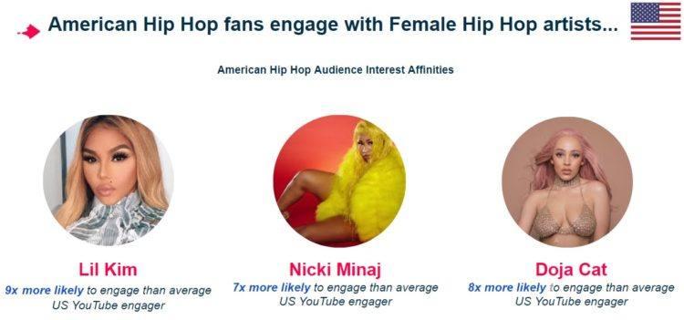 American Hip Hop Audience