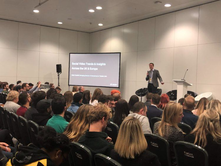 Social Video Performance in the UK and Europe Session at VidCon London