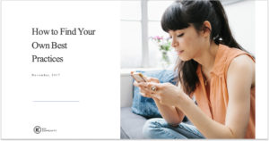 How to Find Your Own Best Practices webinar