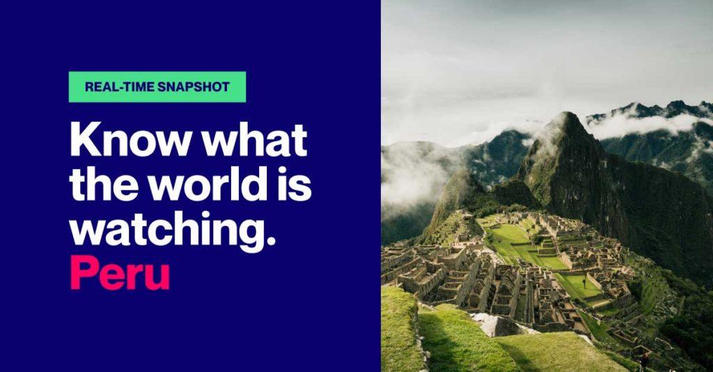Real-time Video Snapshot Peru