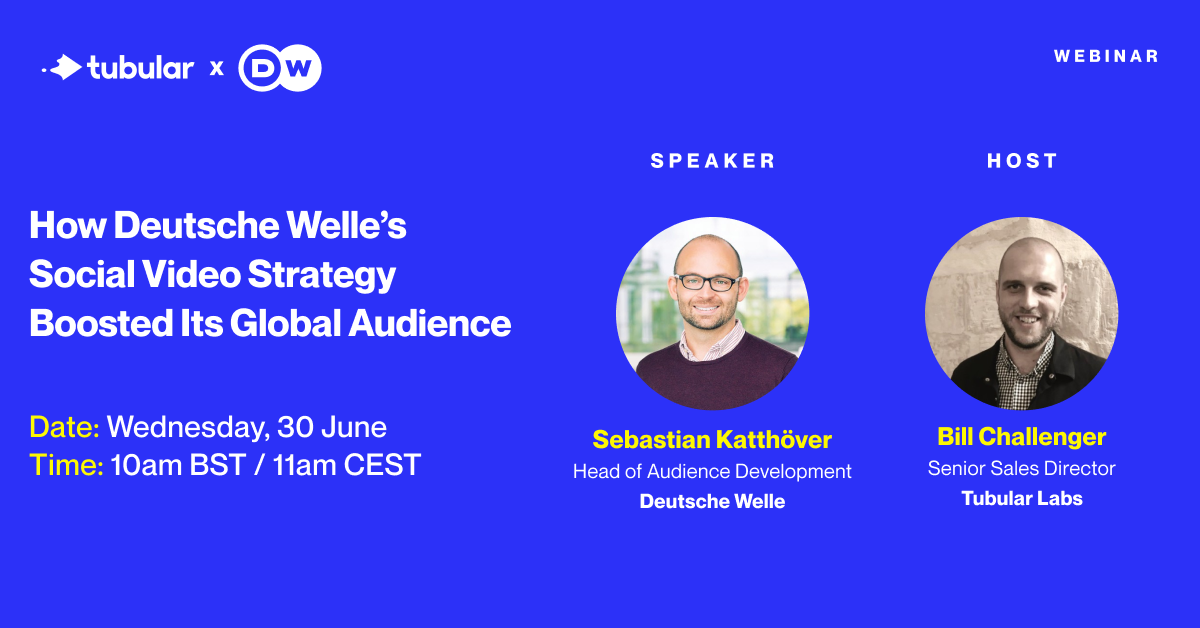 WEBINAR: How Deutsche Welle's Social Video Strategy Boosted Its Global Audience